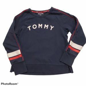 Tommy Hilfiger Sport logo Navy sweatshirt size l